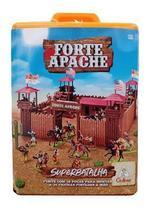 Brinquedo maleta forte apache super batalha pintados 0063 - Gulliver