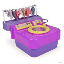 Brinquedo Máquina De Lavar Lava Lava Xplast Ref 8006 -