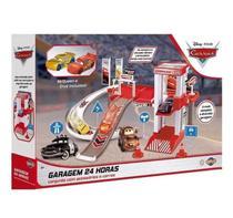 Brinquedo Mcqueen Garagem com Acessórios e 2 Carros - Toyng -