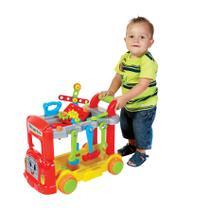 Brinquedo Mechanic Truck Com Capacete Com Caixa - Maral -