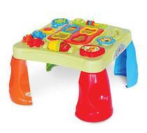 Brinquedo Mesa Criativa Com 8 Funçoes Diferentes Com Som Maral -