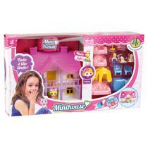 Brinquedo Mini Bonecas Conjunto Mini House DTC -