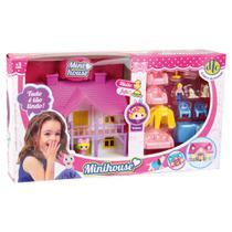 Brinquedo Mini Bonecas Conjunto Mini House Sortido Unitário - Dtc