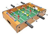 Brinquedo Mini Pebolim Totó Futebol De Mesa Criança 2 Player - Western