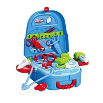 Brinquedo Mochila Kit Médico Maleta Infantil 2 em 1 Completo - Baby Style