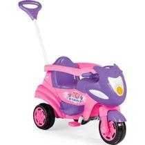 Brinquedo Motoca Triciclo Max Rosa Original Calesita 0947 -