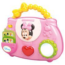 Brinquedo Musical - Bolsinha Falante da Minnie Mouse - Disney - Dican -