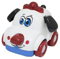 Brinquedo Musical  C/ Som e Luzes - Carro Dog - BBR TOYS -
