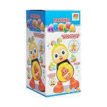 Brinquedo Musical Dancing Abelha Mexe Dança Luz E Som DMToys - Dm Toys