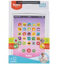 Brinquedo Musical Tablet Rosa - 8549 Buba -
