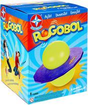 Brinquedo Novo POGOBOL Roxo e Amarelo - Estrela -