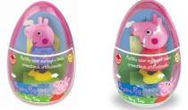 Brinquedo Ovo Big Toy George +  Peppa Pig - Dtc