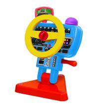 Brinquedo P/ Bebe Volante Fom Fom C/ Buzina 1181 Elka -