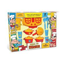 Brinquedo Panela Fogão Turma Da Monica 17 Peças B232 Mielle -