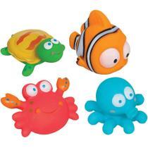 Brinquedo para banho do Bebê Bichinhos Oceano Buba -
