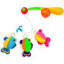 Brinquedo para Banho Pescaria Pesca Peixinho - Buba -