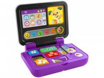 Brinquedo para Bebê Aprender e Brincar - Meu Primeiro Laptop Recursos Fisher-Price FXK24