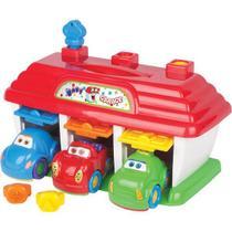Brinquedo para bebe baby garage big star -