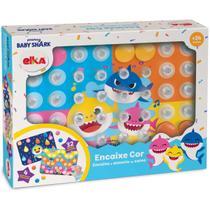 Brinquedo para Bebe BABY SHARK Encaixe COR - Elka