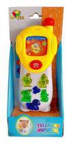 Brinquedo Para Bebê Celular Musical A Pilha Interativo Baby - Art Brink