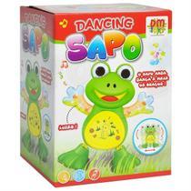 Brinquedo Para Bebê Dancing Sapo Com Luz e Som DM Toys -