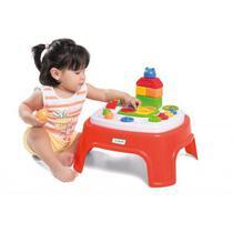 Brinquedo Para Bebê Mesinha Educativa Didática Encantada - Tateti -