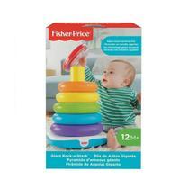Brinquedo Para Bebe Piramide de Argolas Gigante Fisher Price -