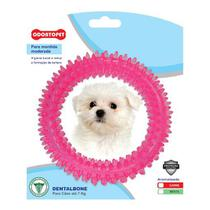 Brinquedo para Cachorro Argola Dentalbone Odontopet Rosa -