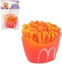 Brinquedo Para Cachorro Batata Frita Colors Com Som - Wellmix