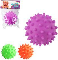 Brinquedo para cachorro bola com som colors - Wellmix