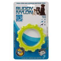 Brinquedo para Cachorro Buddy Toys Disco de Nylon Verde -