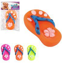 Brinquedo Para Cachorro Chinelo Colors Com Som 12,5Cm Na Solapa - Wellmix