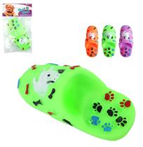 Brinquedo para cachorro chinelo colors com som - Wellmix