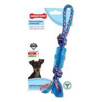 Brinquedo para Cachorro Tubo com Corda Dentalbone Odontopet -