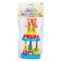 Brinquedo Para Encaixar Baby Roll Tower Solapa Maral -