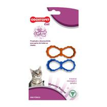 Brinquedo para Gato com Catnip Odontopet Cat Laço Azul / Laranja -