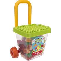 Brinquedo para montar cadeira com blocos gulliver -