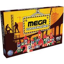 Brinquedo Para Montar Mega Construções 150 Peças - Pais E Filhos -