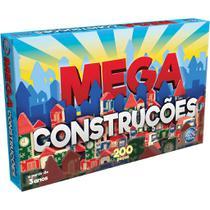 Brinquedo Para Montar Mega Construções 200 Peças - Pais E Filhos -