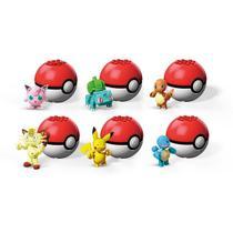 Brinquedo para montar Pokémon Pokébola Sortidos Flobelle - Mattel -