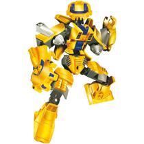 Brinquedo para Montar Robo Guerreiro Yellow ARMOR 57 - Xalingo