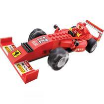 Brinquedo para montar - super maquina na pista 97pcs - xalingo -