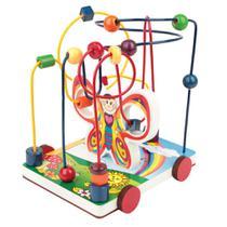 Brinquedo Pedagógico Aramado Borboleta Carlu -