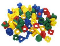 Brinquedo Pedagogico Blocos De Montar Hc-059 - Esm