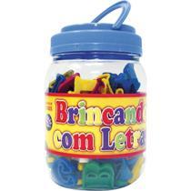 Brinquedo Pedagogico Brincando C/ as Letras 173PCS - GNA