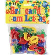 Brinquedo Pedagogico Brincando com Letras 62 Pecas - GNA
