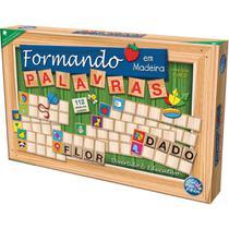 Brinquedo Pedagogico Madeira Formando Palavras - GNA