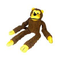 Brinquedo Pelucia C/apito Para Caes Macaco - Chalesco