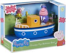 Brinquedo Peppa Pig Barco Vovô Pig - Flutua na Água - Sunny -