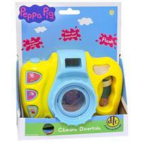 Brinquedo Peppa Pig Camera Divertida com Flash Dtc 4699 -